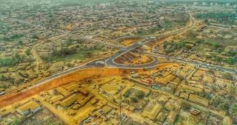 Highway Interchange Flyover Completed